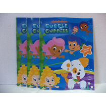 Bubble Guppies Fiestas 10 Libros Colorear Recuerdos Regalos