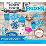 Kit Imprimible Frozen Photo Booth - Accesorios Para Fotos