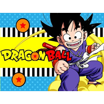Kit Imprimible Dragon Ball Candy Bar Tarjetas Y Mas