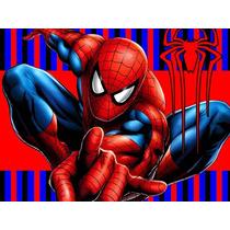 Kit Imprimible Spiderman Hombre Araña Diseña Tarjetas Y Mas