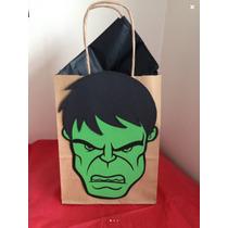 Hulk Bolsitas Para Dulces Tamaño Chico