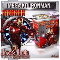 Ironman Iron Man Invitaciones Kit Imprimible Y Mas Jose Luis