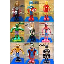 Centros De Mesa,fofuchas,cumpleaños,los Vengadores Y Mucho+