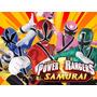 Kit Imprimible Power Rangers Diseña Tarjetas Cumples 2x1