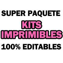 Paquete De Kits Imprimibles 100% Editables Inicia Tu Negocio