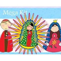 2x1 Kit Imprimilble Invitaciones De Virgencitas Santos Y Mas