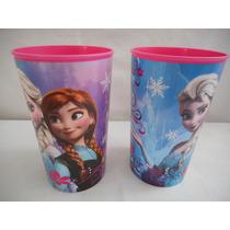 Dos Vasos Plastico Elsa Y Anna Disney Frozen Fiesta Recuerdo