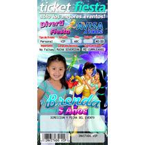 Invitaciones Ticket Master