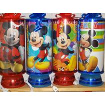 Mickey Mouse Centros De Mesa, Recuerdos, Lamparas, 1regalo