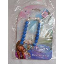 Pulsera Con Dije Disney Frozen Elsa! Fiesta, Recuerdo