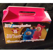 Baby Firts Tv Lonchera Cajita Feliz Personalizada