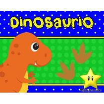 Kit Imprimible Dinosaurios Diseñá Tarjetas Cumples Y Mas 2x1