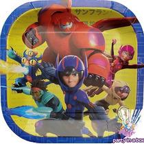 Todo Para Tu Fiesta De Grandes Héroes Big Hero 6 Platos