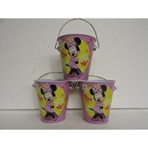 Minnie Mouse Dulceros Fiestas 10 Cubetitas Recuerdos Premio