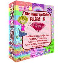 Kit Imprimible Semi-empresarial * Invitaciones Tarjetas Boda