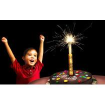5 Velas Mágicas Para Pastel De Cumpleaños