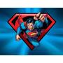 Kit Imprimible Superman Invitaciones Fiesta Aniversario