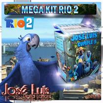 Rio 2 Invitaciones Cajitas Regalos Kit Imprimible Jose Luis