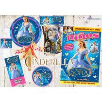 Invitacion Cinderellacenicienta Kit Imprimible Personalizado