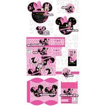Invitaciones Infantiles Personalizadas Mimi, Minnie Mouse
