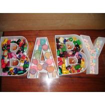 ¡¡¡¡letras Rellenables Tipo Plato Fiestas Bodas,baby !!!!