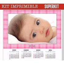 Kit Imprimible Calendarios 2016 Promo 2x1 + Extras Almanaque