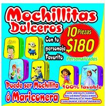 10 Mochilitas O Mariconeras Dulceros 180 Pesos