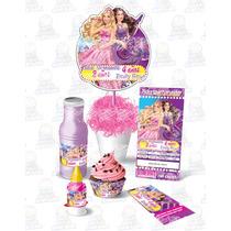 Kit Imprimible Barbie Princesa Fiesta Infantil Cumpleaños