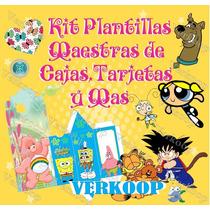 Kit Imprimible Plantillas Maestras De Cajas Tarjetas Y Mas