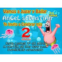 Invitación Personalizada Diseño Ó Te La Enviamos Impresa!!!