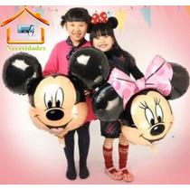 Globo Minnie Y Mickey Mouse,mimi,fiesta,niña,infantil,dysnei
