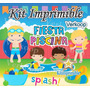 Kit Imprimible Fiesta Piscina Pool Party Candy Bar Fiesta