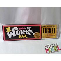 30 Invitaciones Barra Chocolate Wonka Xv Años Cumpleaños