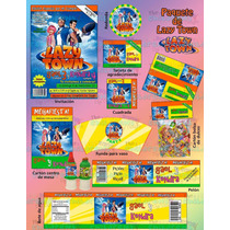 Invitaciones Lazy Town-kit Lazy Town