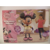 Globo Metalico Fiestas Air Walkers Minnie Mouse
