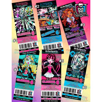 Invitaciones Monster High-invitaciones Infantiles-draculaura