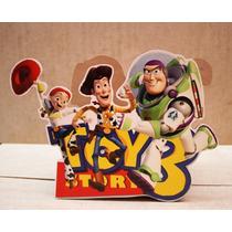 Centro De Mesa De Woody Y Sus Amigos Para Fiestas Infantiles