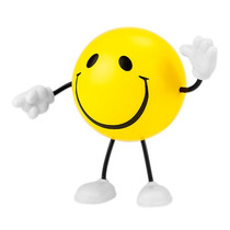 Figura Anti Stress Carita Feliz Promocional