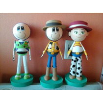 Fofuchas Centros De Mesa Toy Story Fiestas Varios Personajes