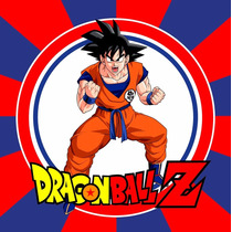 Kit Imprimible Dragon Ball - Decoraciones, Cajitas, Fiesta