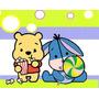 Kit Imprimible Winnie Pooh Bebe Diseñá Tarjetas , Cumples