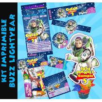 Kit Imprimible Buzz Lightyear