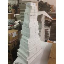 Caja Para Envoltura De Regalo Pastel Med (mayoreo) 250 Pcs.
