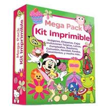 Mega Combo Kit Imprimible Invitaciones Recuerdos Souvenirs