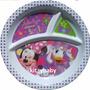 Fiesta De Minnie Mouse, Plato De Melamina Ó Vaso Lenticular