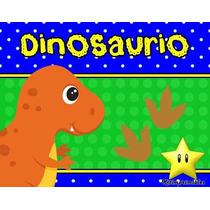 Kit Imprimible Dinosaurios Diseñá Tarjetas, Cumples Y Mas #2