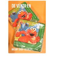 Comegalletas Elmo Plaza Sésamo Servilletas Con 16 Piezas