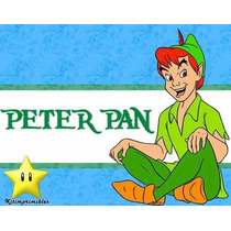 Peter Pack Kit Imprimible Peter Pan Invitaciones Candybar