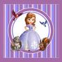 Kit Imprimible Princesita Sofia 2 En1 Candy Bar Cotillon 2x1