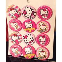 Hello Kitty 6 Docenas De Botones Fiesta